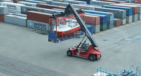 Shipping Boats Internationally