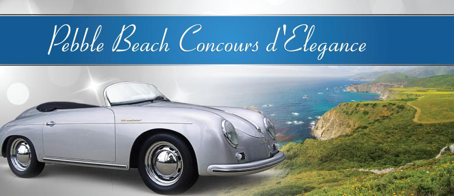 Pebble Beach - The California Car Classic