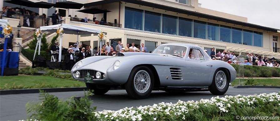 Ferrari at Concours d' Elegance