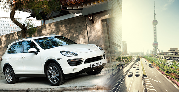 Porsche Cayenne New Car Shipping to China