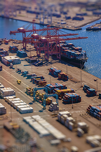 International Car Shipping Port