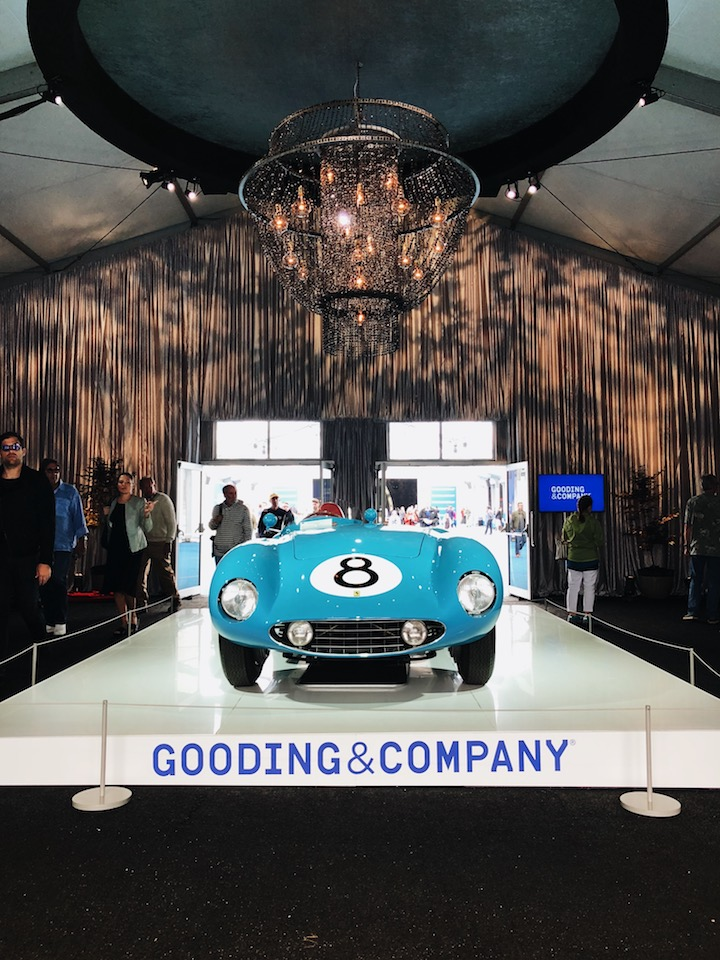 Gooding auction pebble beach 2018