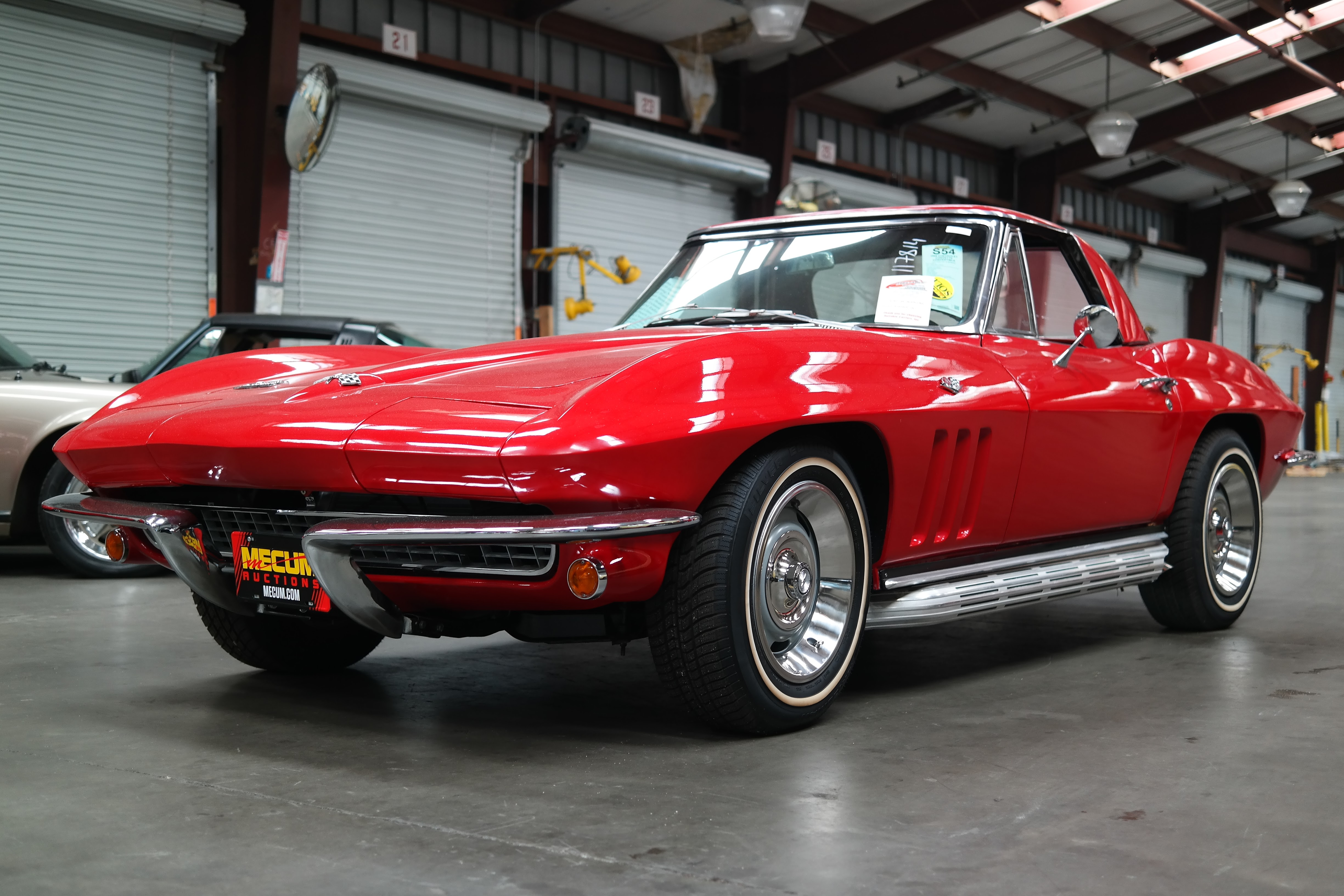 Classic Corvette shipping from USA to New Zealand