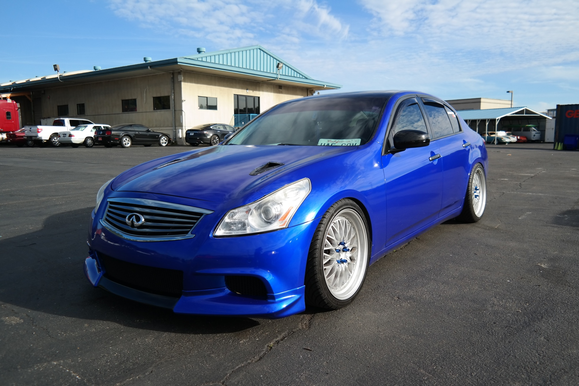 Infiniti Tuner Car shipping overseas