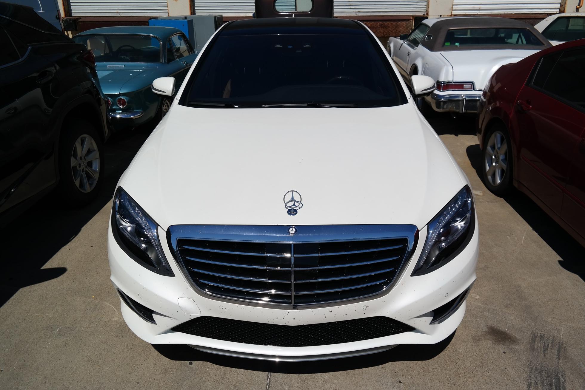 Mercedes S-Class Shipping Overseas