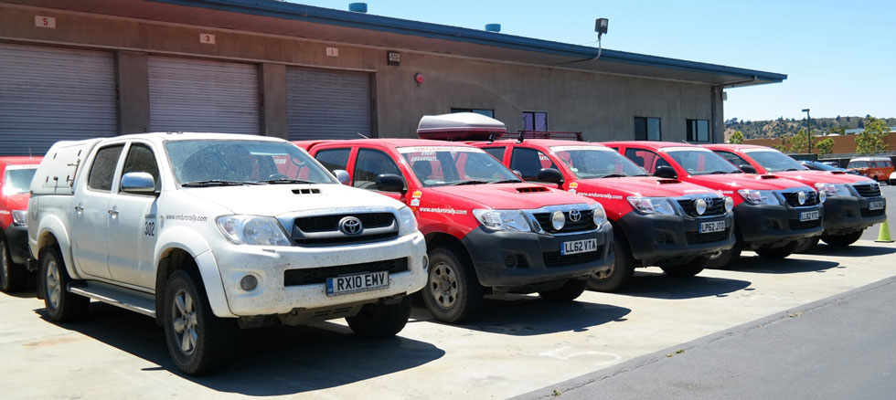 Toyota Hilux shipping overseas