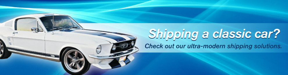 classic car shipping overseas