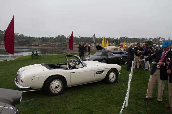 Elvis Presley BMW 507 Pebble Beach International Shipping