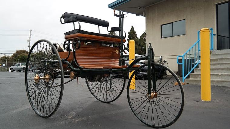 1886 Benz Patent-Motorwagen Replik