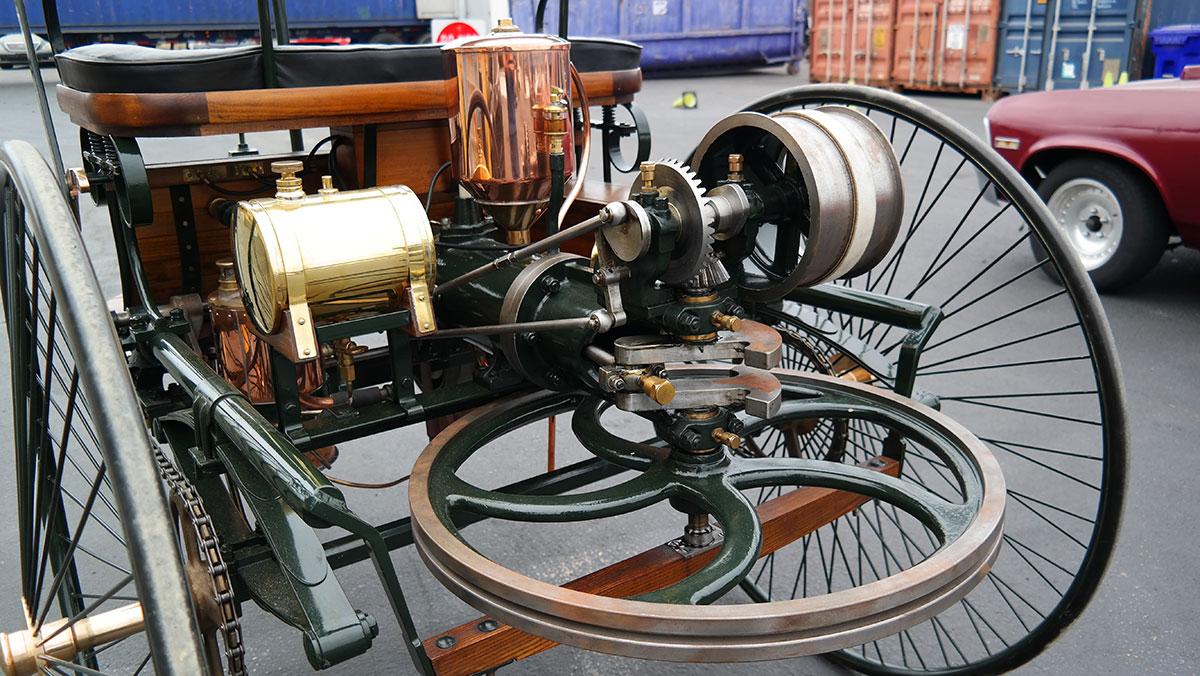 1886 Benz Patent-Motorwagen Replik motor