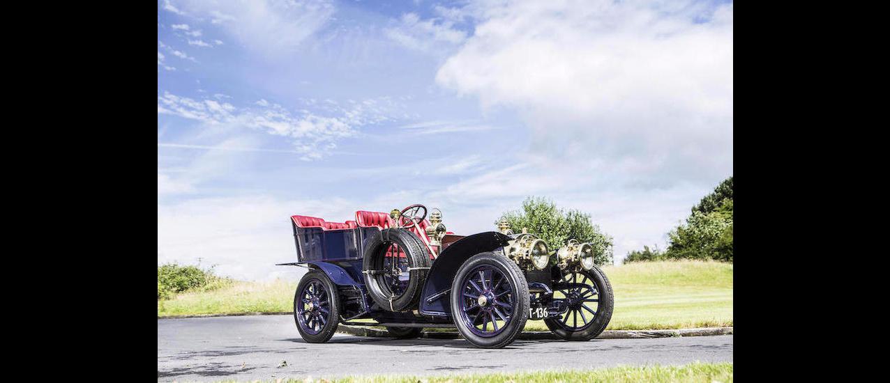1904 Mercedes-Simplex 28-32HP 5-Seat Rear Entrance Tonneau