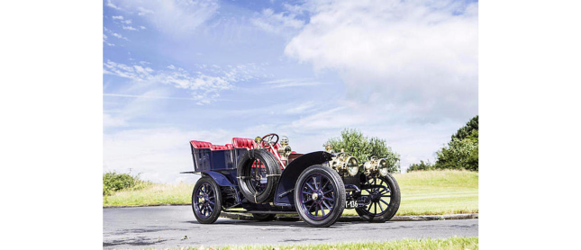 1904 Mercedes-Simplex 28-32HP 5-Seat Rear Entrance Tonneau