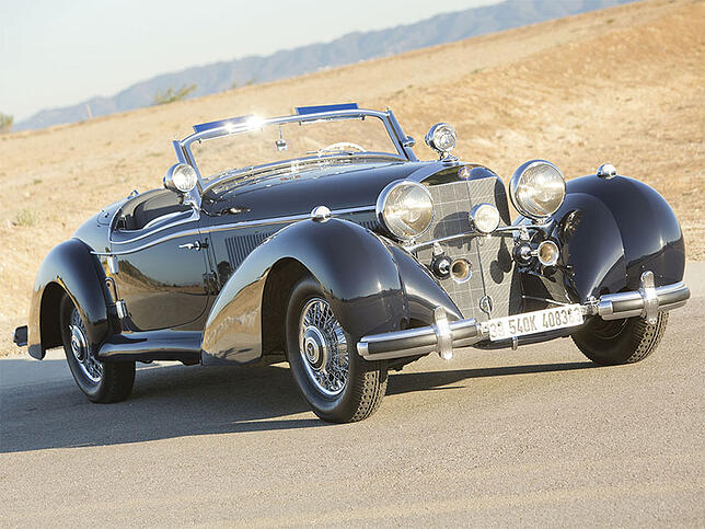 1939 Mercedes-Benz 540 K Special Roadster by Sindelfingen