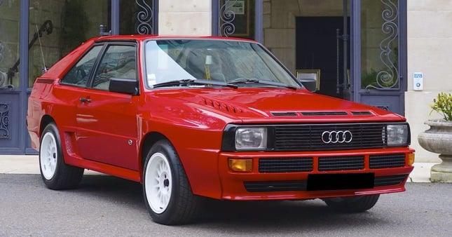 1985 Audi Quattro Sport coupe