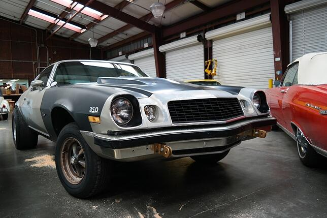 Classic Camaro muscle car from the USA