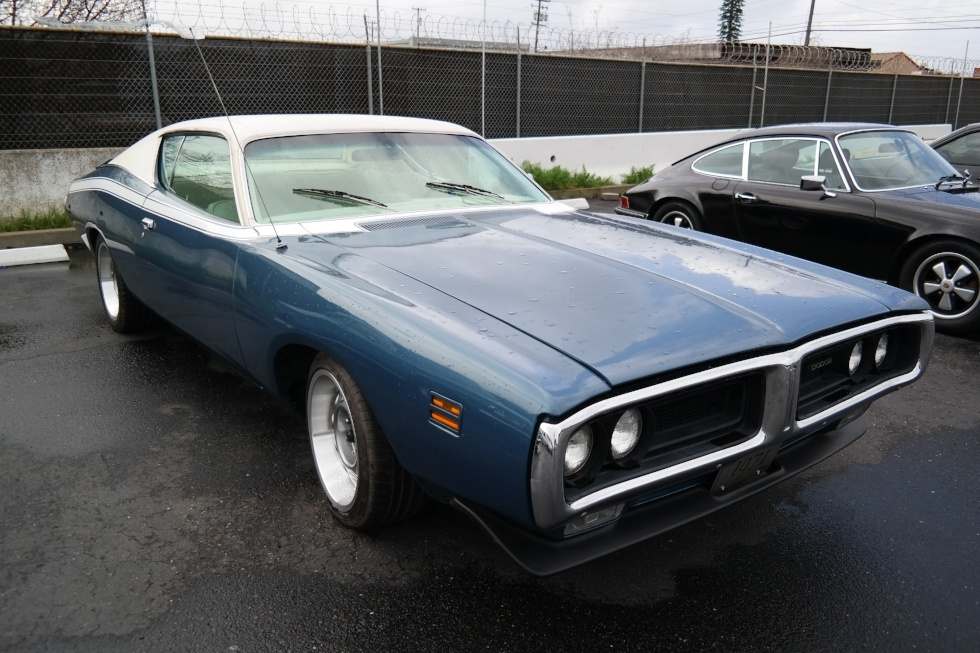 Classic Dodge charger from the USA