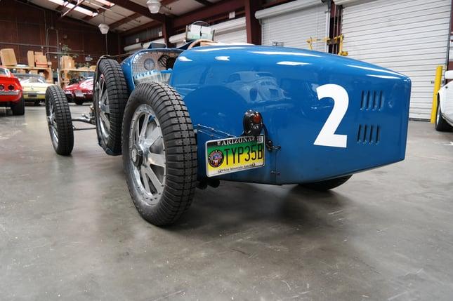 1928 Bugatti Type 35B BC83 shipped overseas
