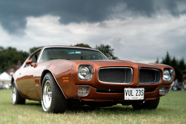 Classic Pontiac Firebird from USA import