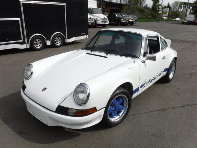 Oldtimer Porsche Carrera RS auto import