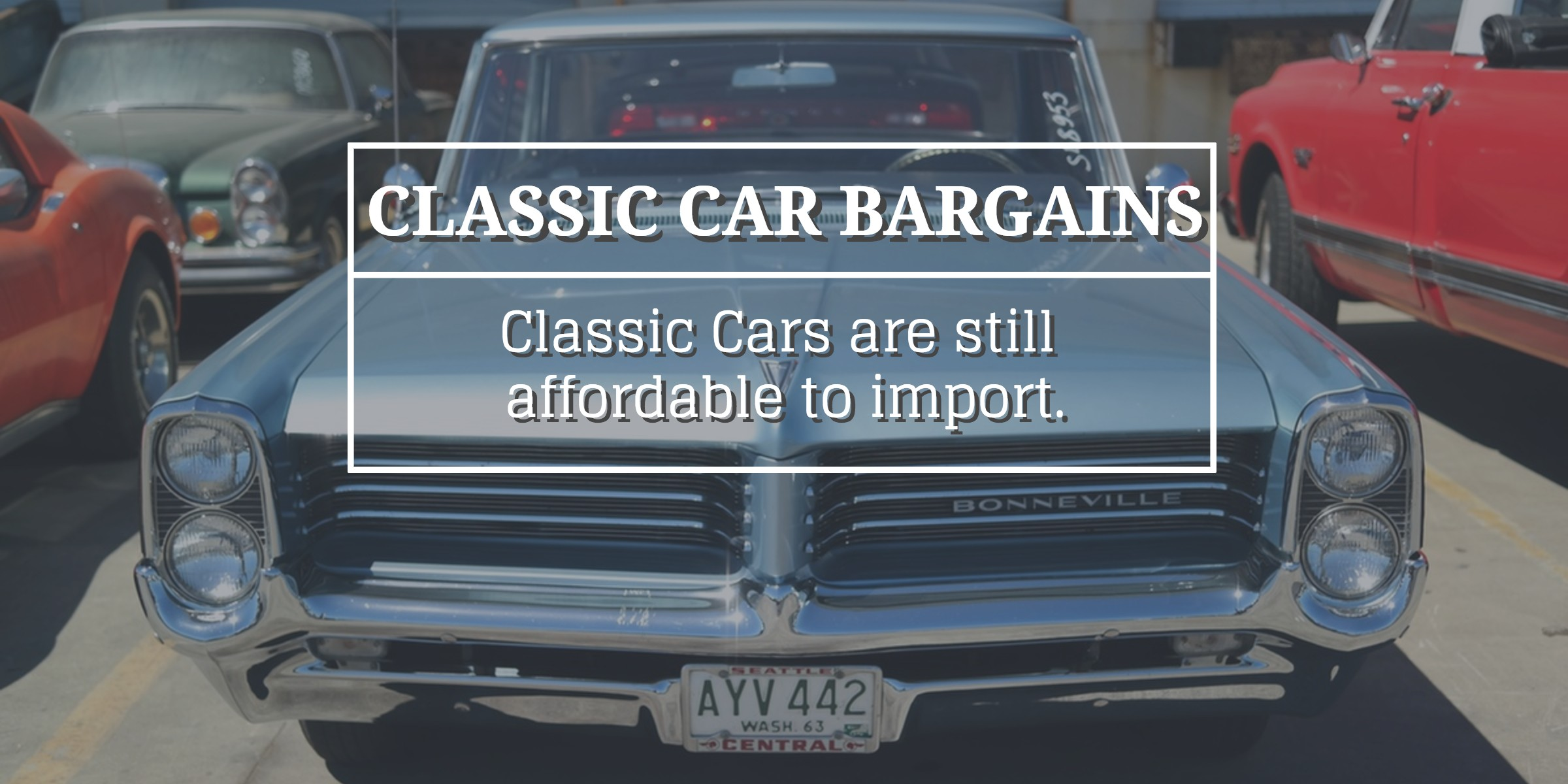Classic cars from the USA are still affordable
