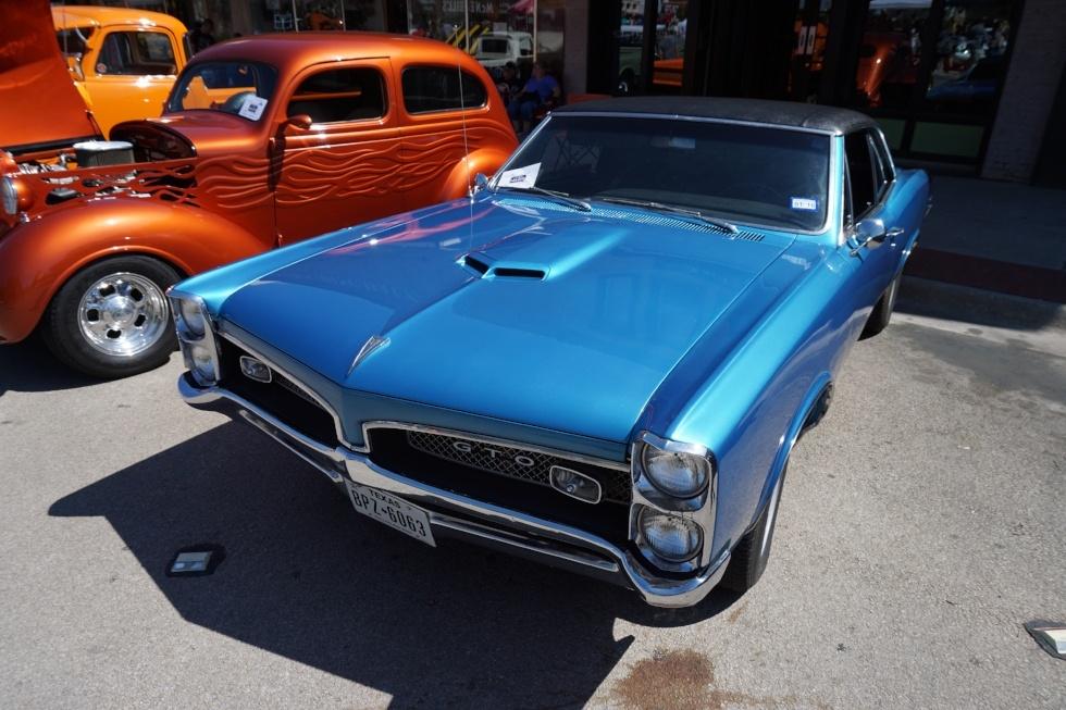 Pontiac GTO muscle car import aus usa