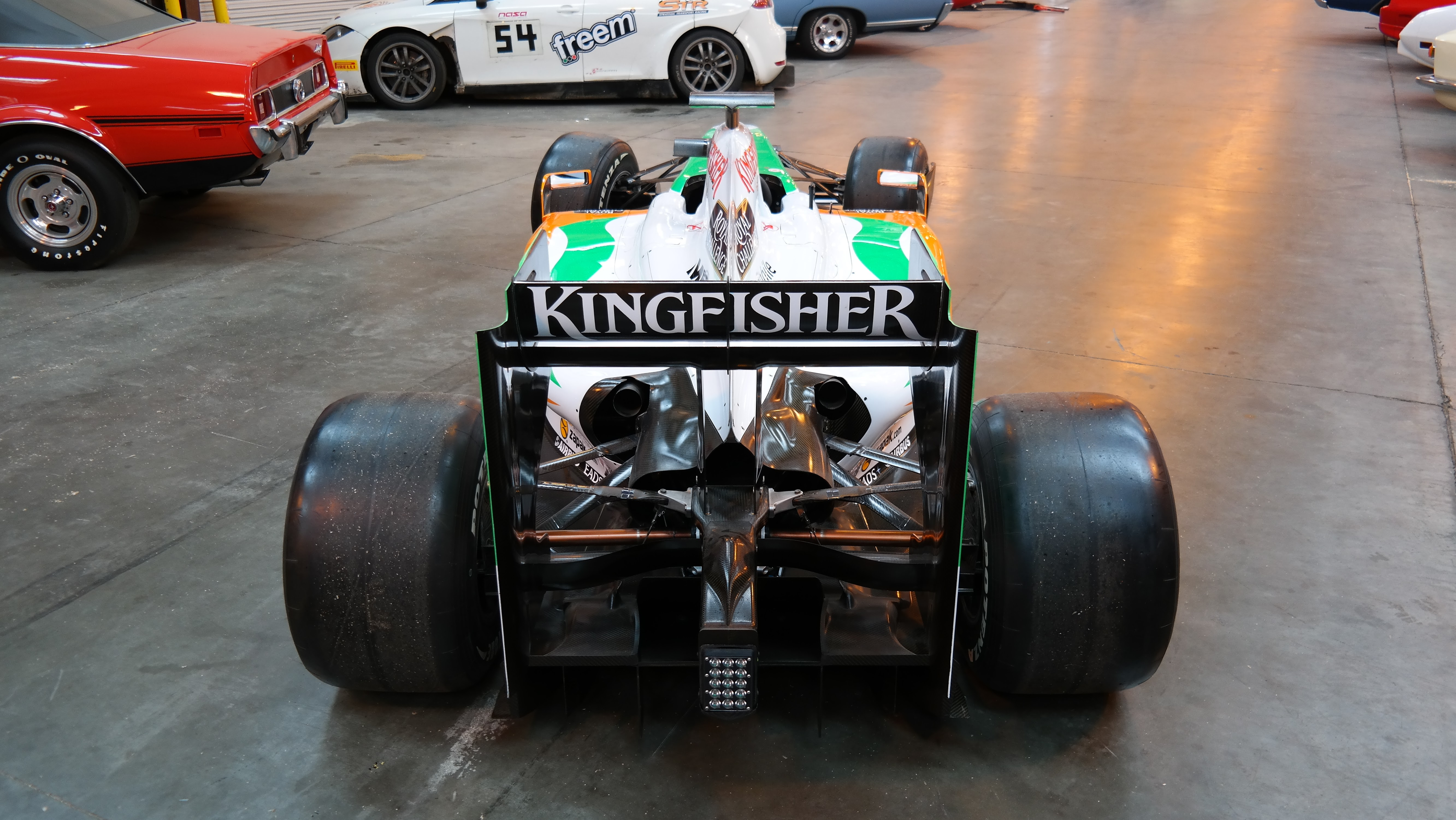 International car shipping F1 Force India