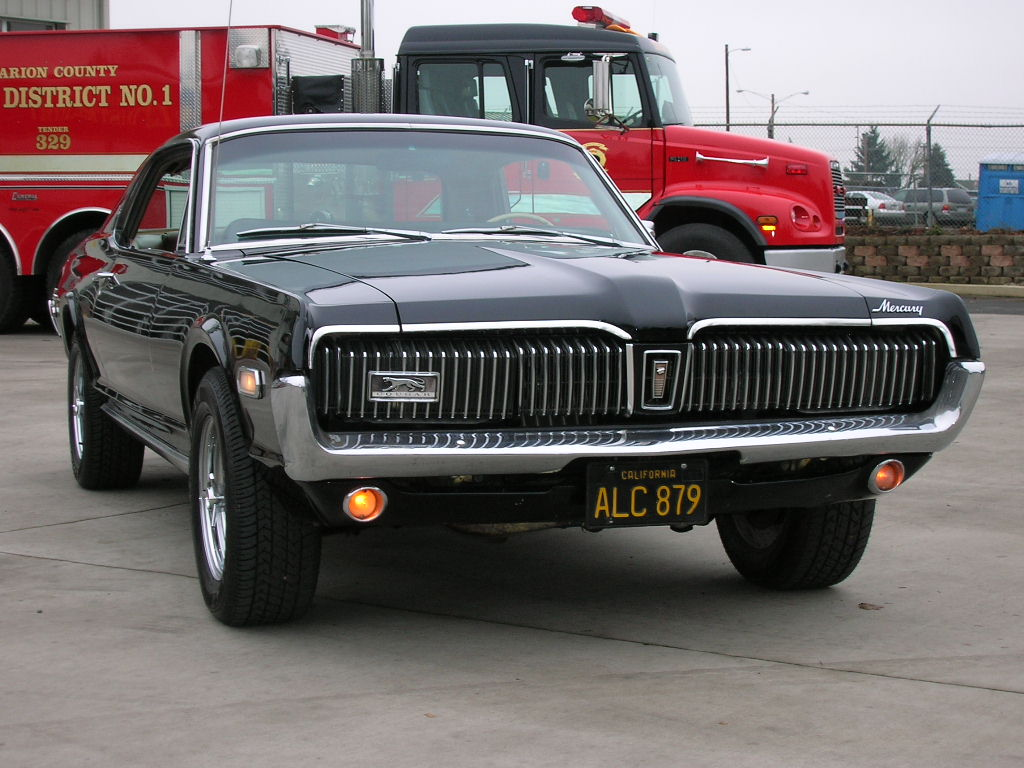 Classic Mercury Cougar from the USA import