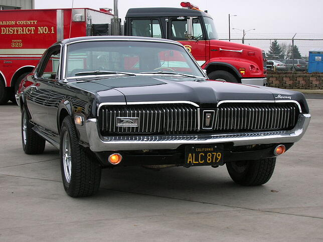 Import auto usa Mercury Cougar