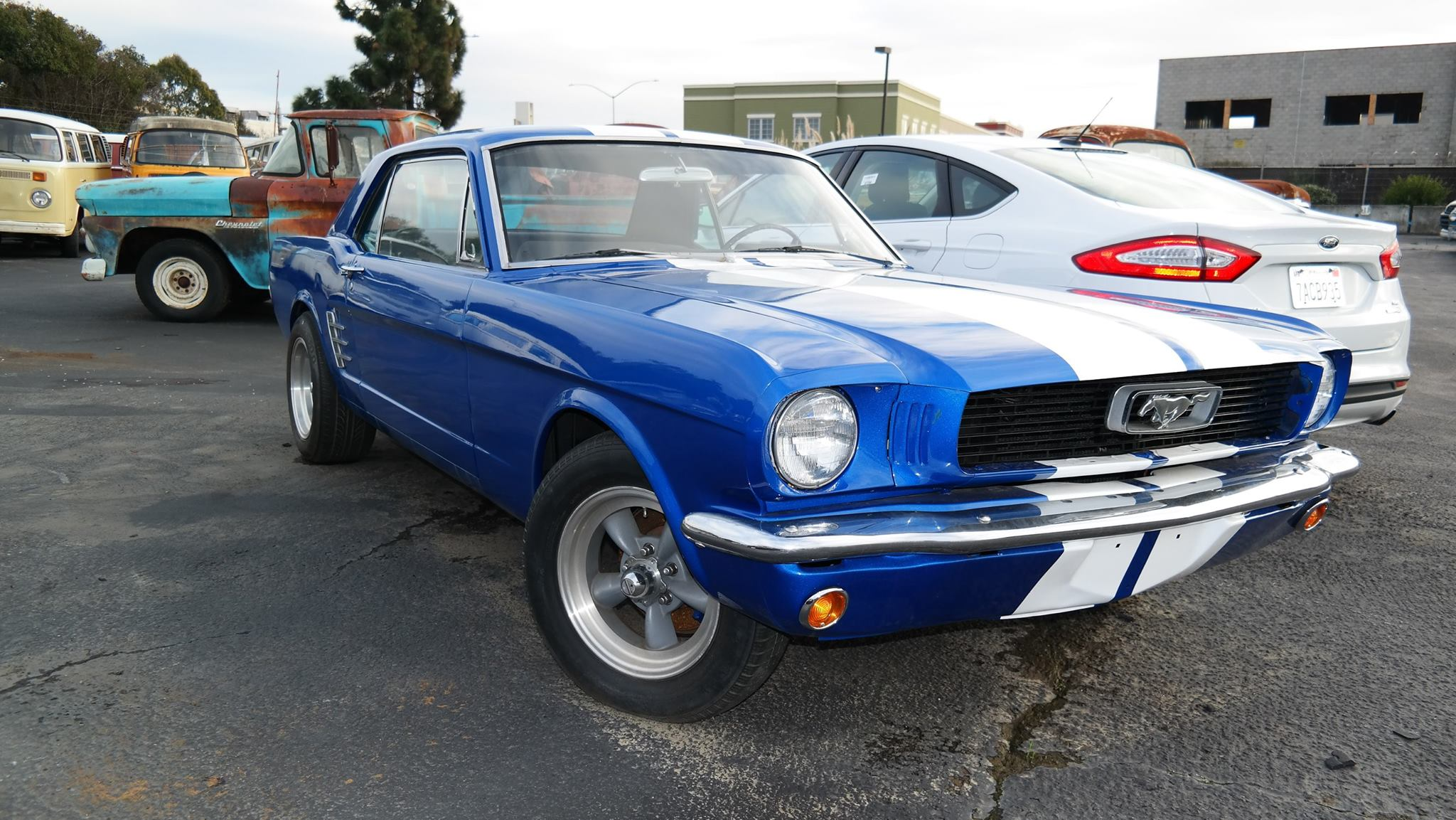 Mustang shipping from the USA to Australia