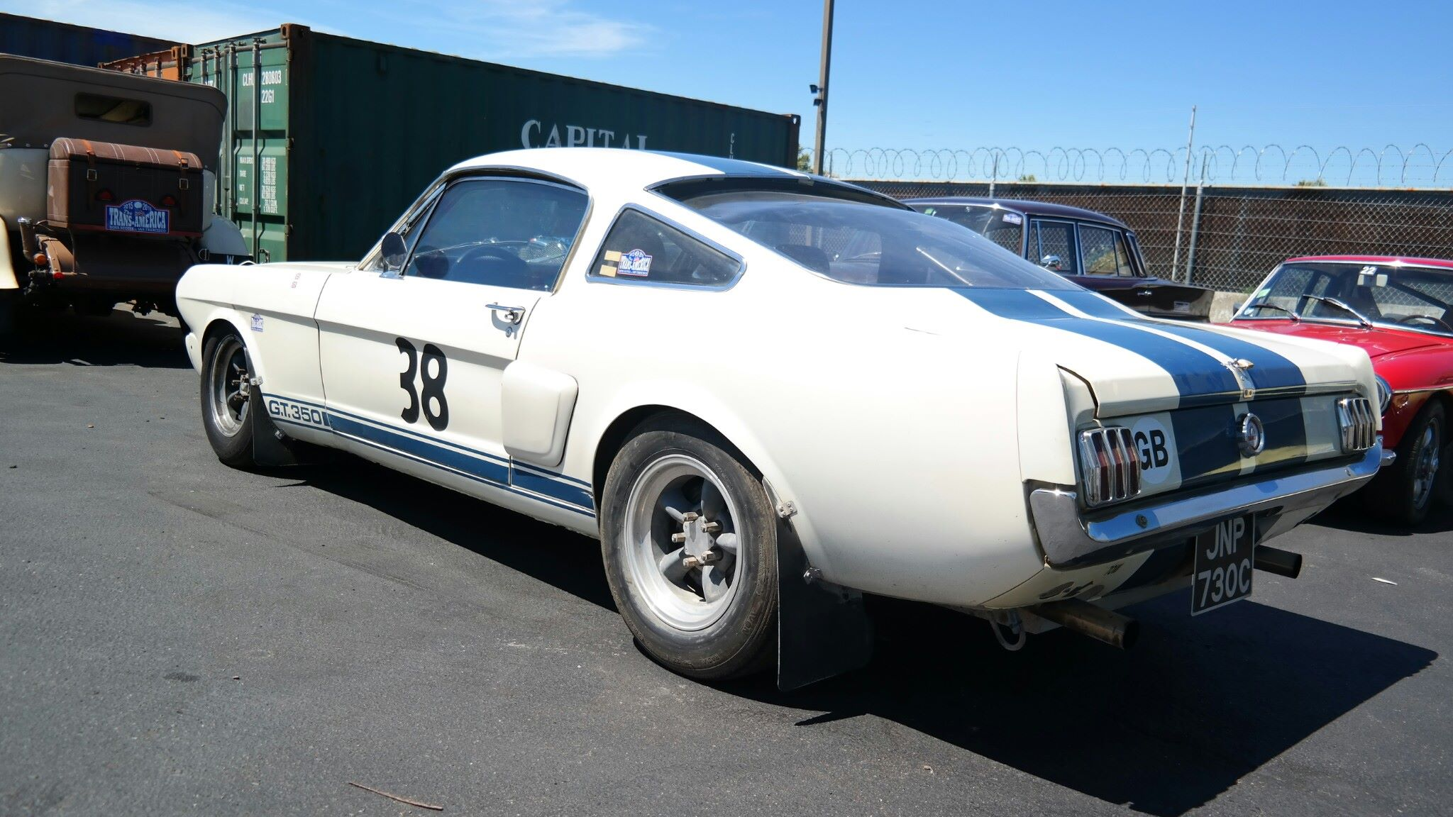 Mustang shipping from the USA to New Zealand