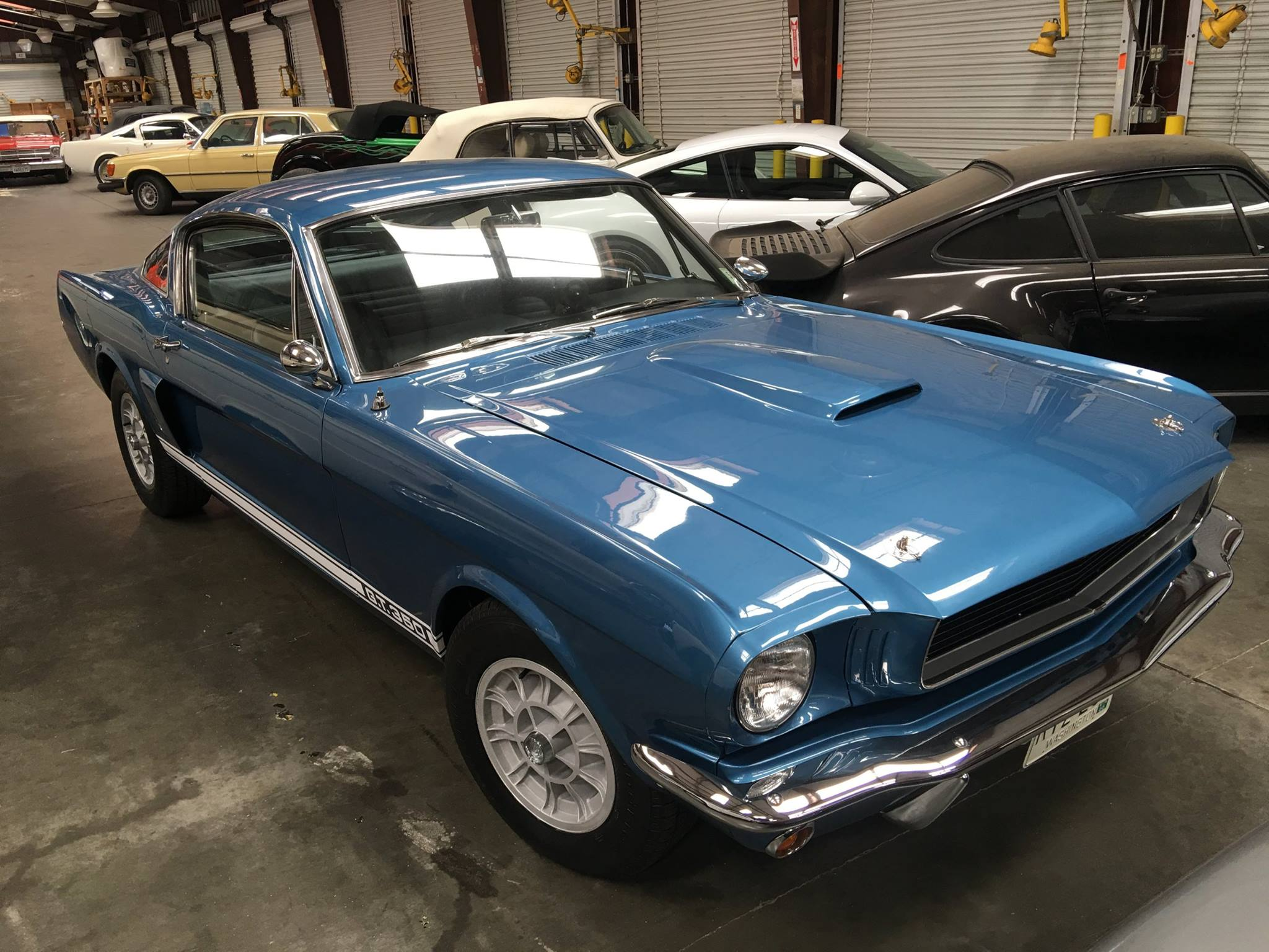 Mustang shipping from the USA to Africa