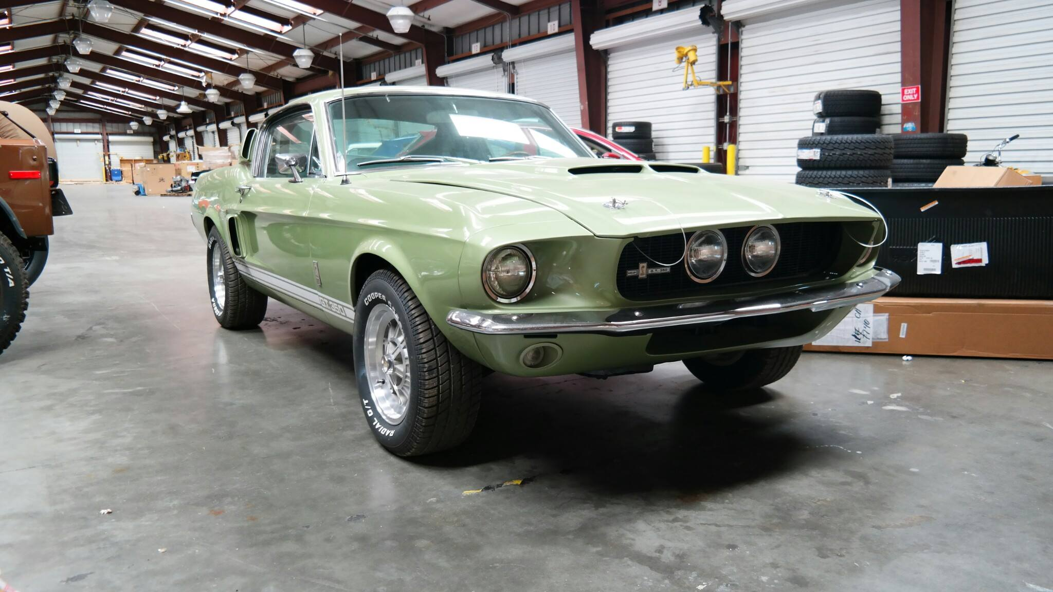 Mustang shipping from the USA to Netherlands