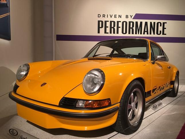 1973 Porsche 911 Carrera RS 2.7 Touring International Car Shipping