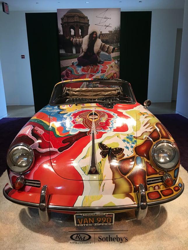 1964 Porsche 356 C 1600 SC Cabriolet by Reutter International Car Shipping