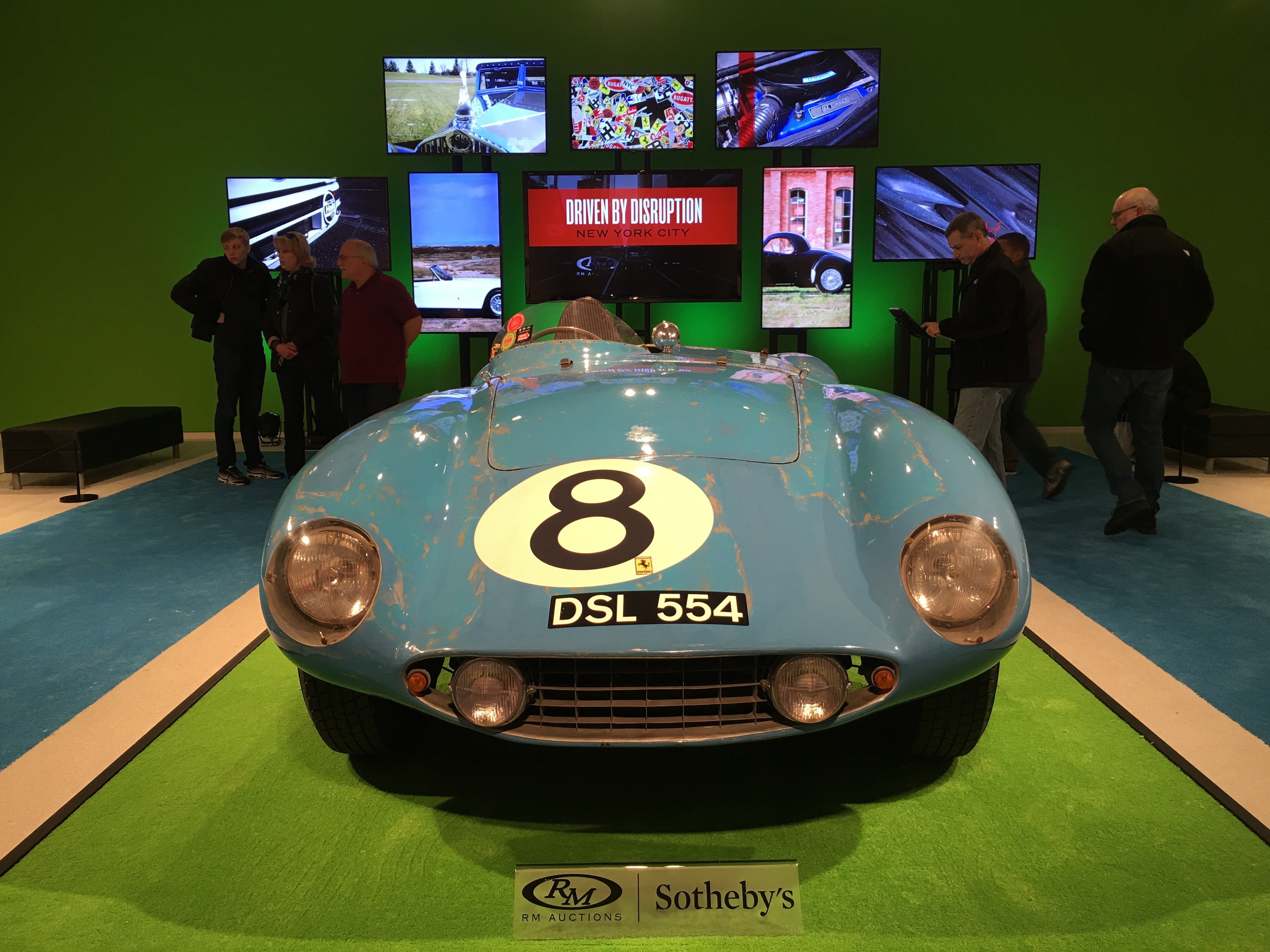 1955 Ferrari 500 Mondial International Car Shipping