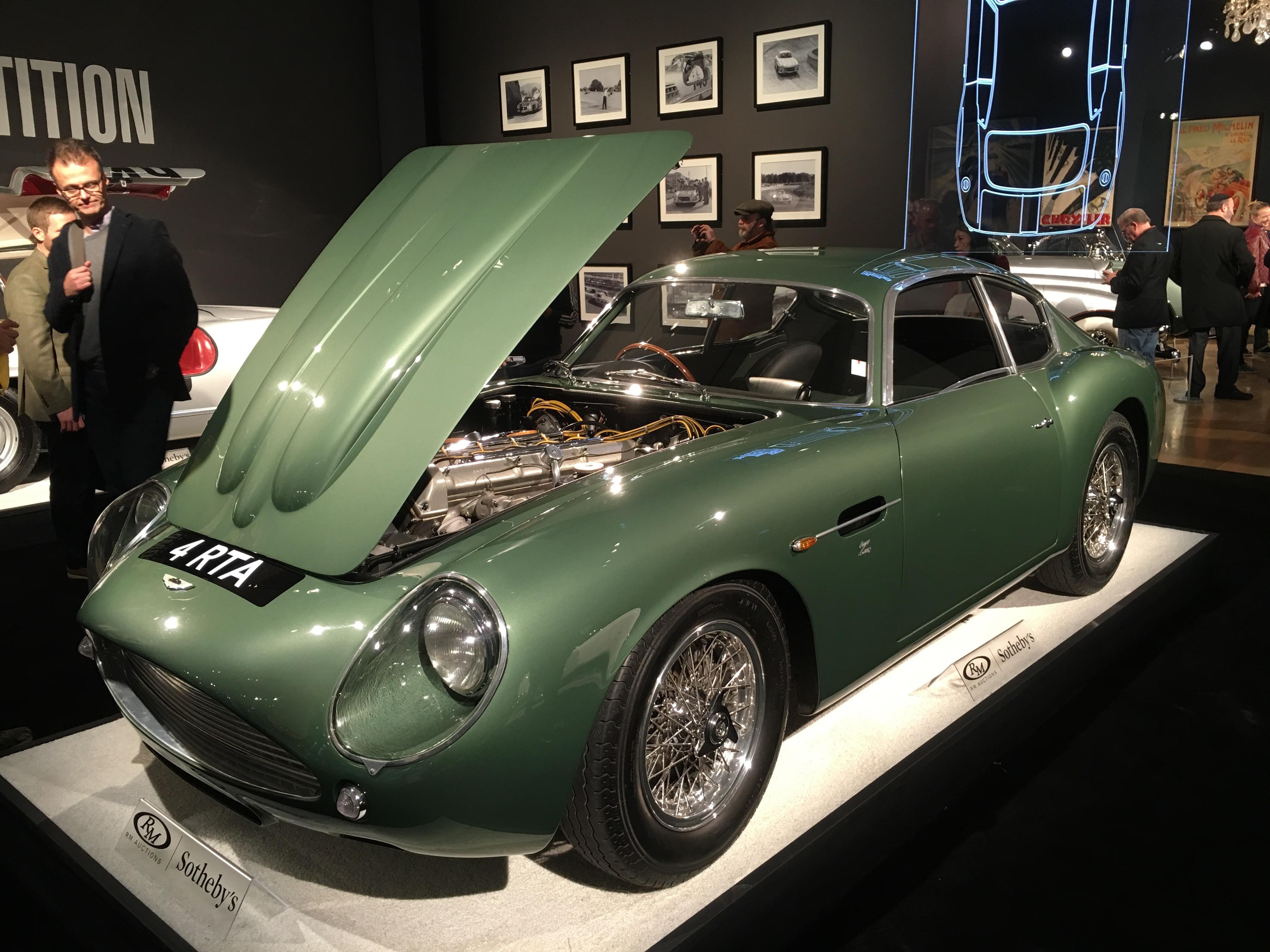 1962 Aston Martin DB4GT Zagato International Car Shipping