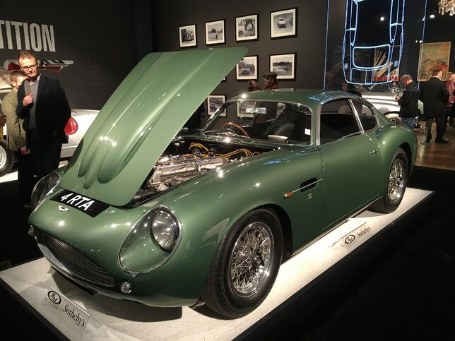 1962 Aston Martin DB4GT Zagato International Car Shipping