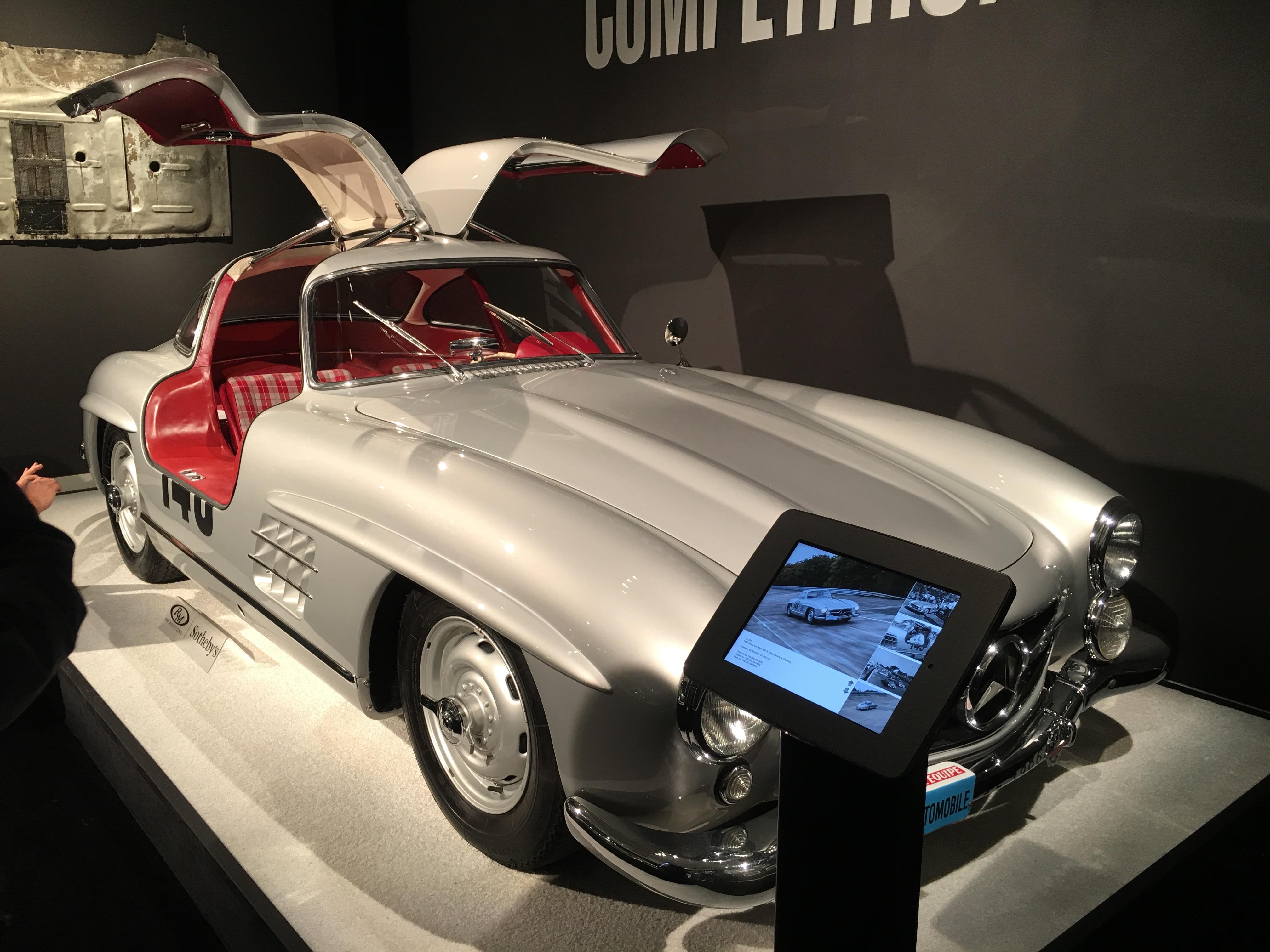 1955 Mercedes-Benz 300 SL 'Sportabteilung' Gullwing International Car Shipping
