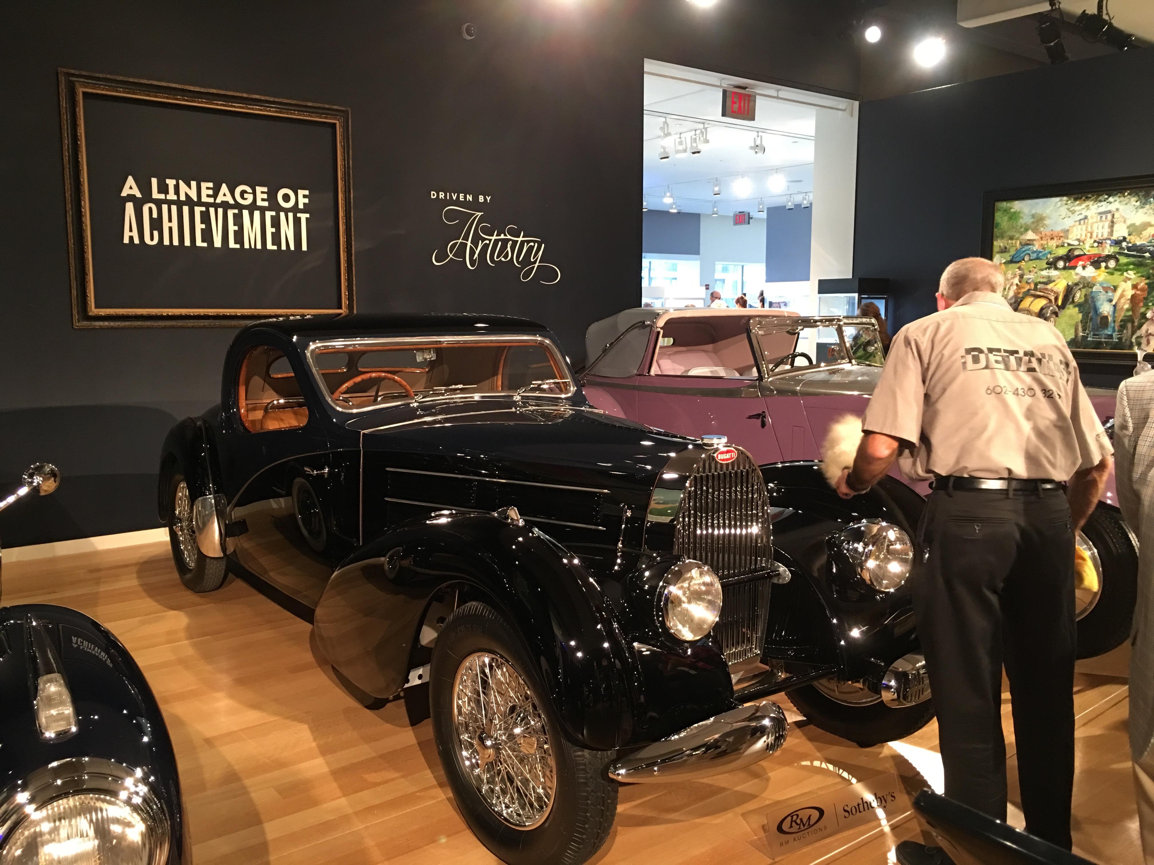 1938 Bugatti Type 57C Atalante International Car Shipping