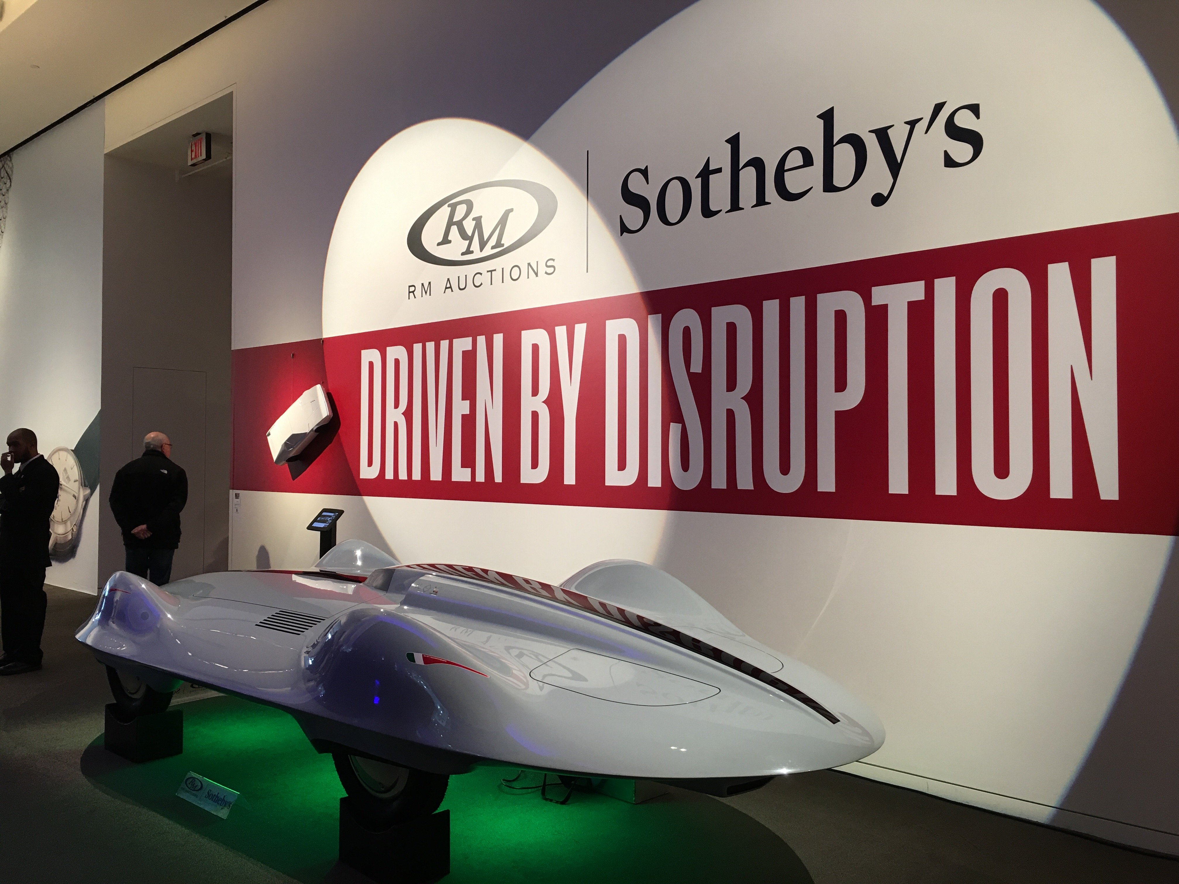 RM Sotheby's NYC International Car Shipping