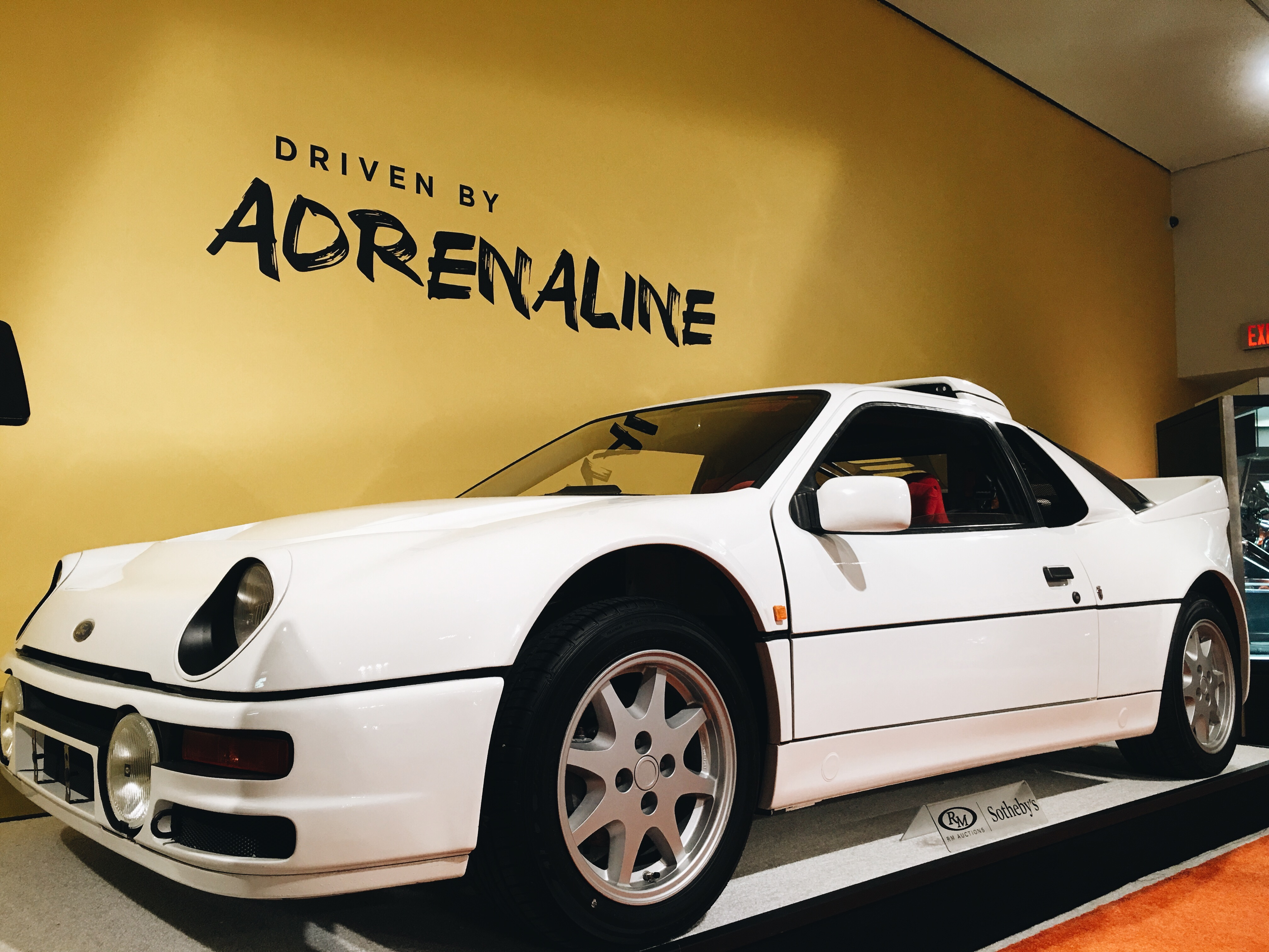 1986 Ford RS200 International Car Shipping