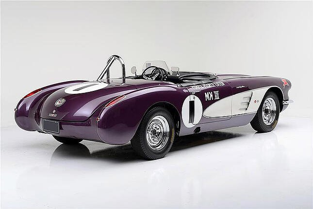 "1959 CORVETTE ""PURPLE PEOPLE EATER"" Shipping"