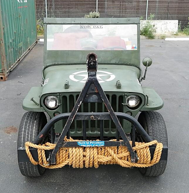 Willys Jeep California Europe