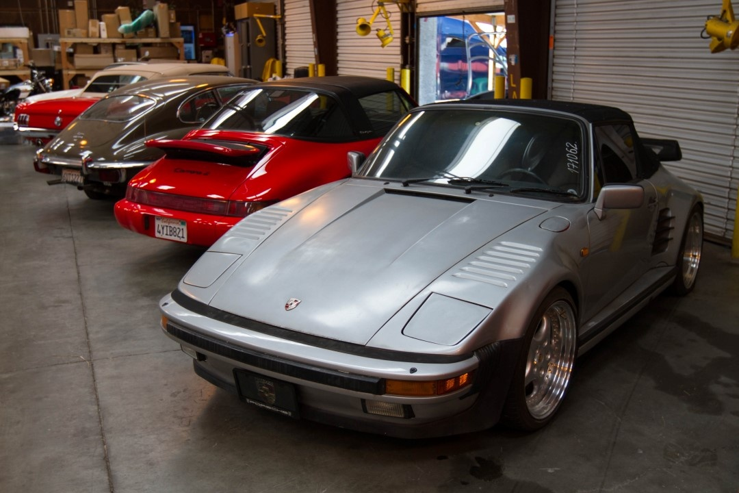 Classic Porsche Turbo Slantnose