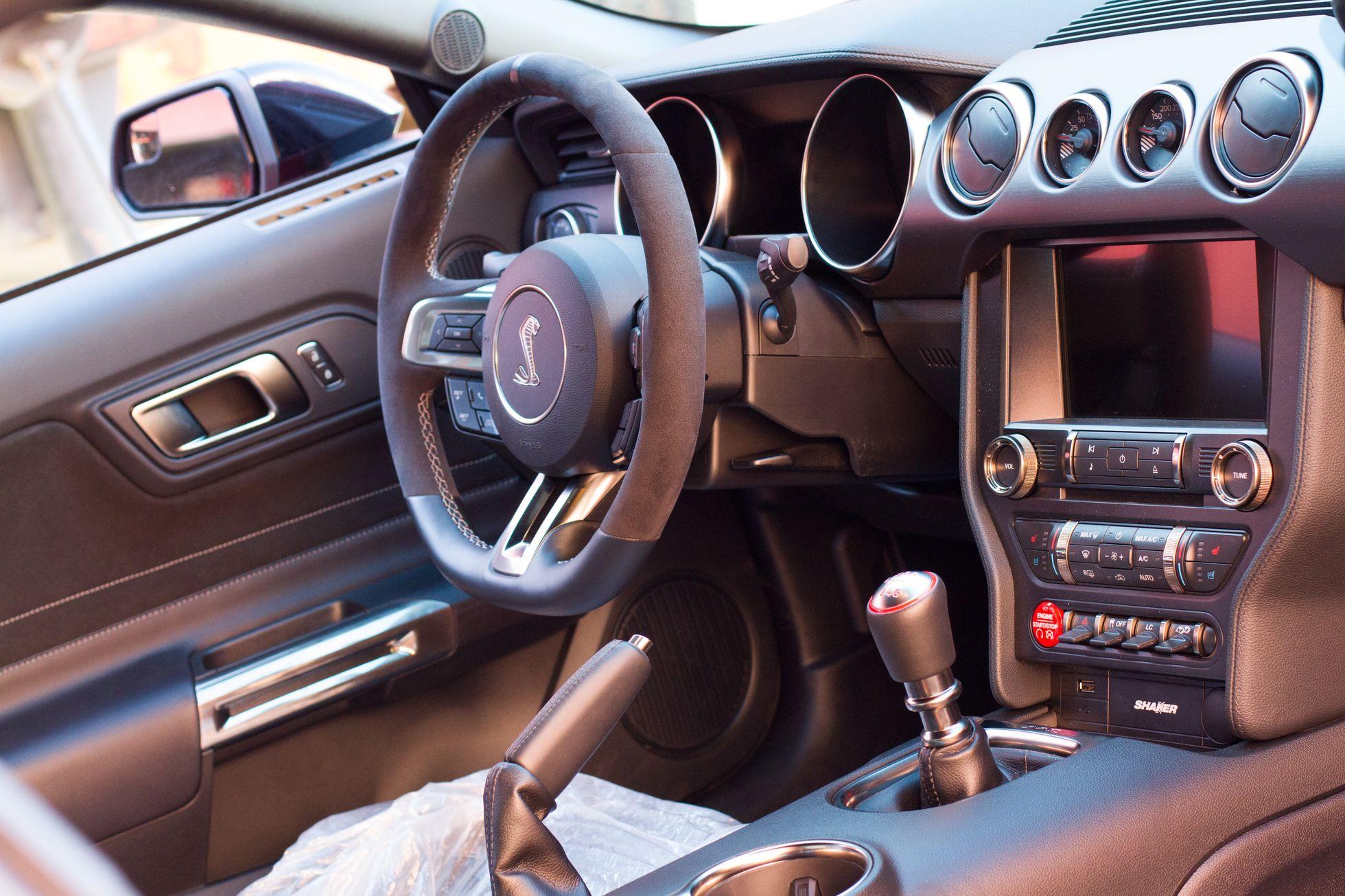 GT350 Shelby interior