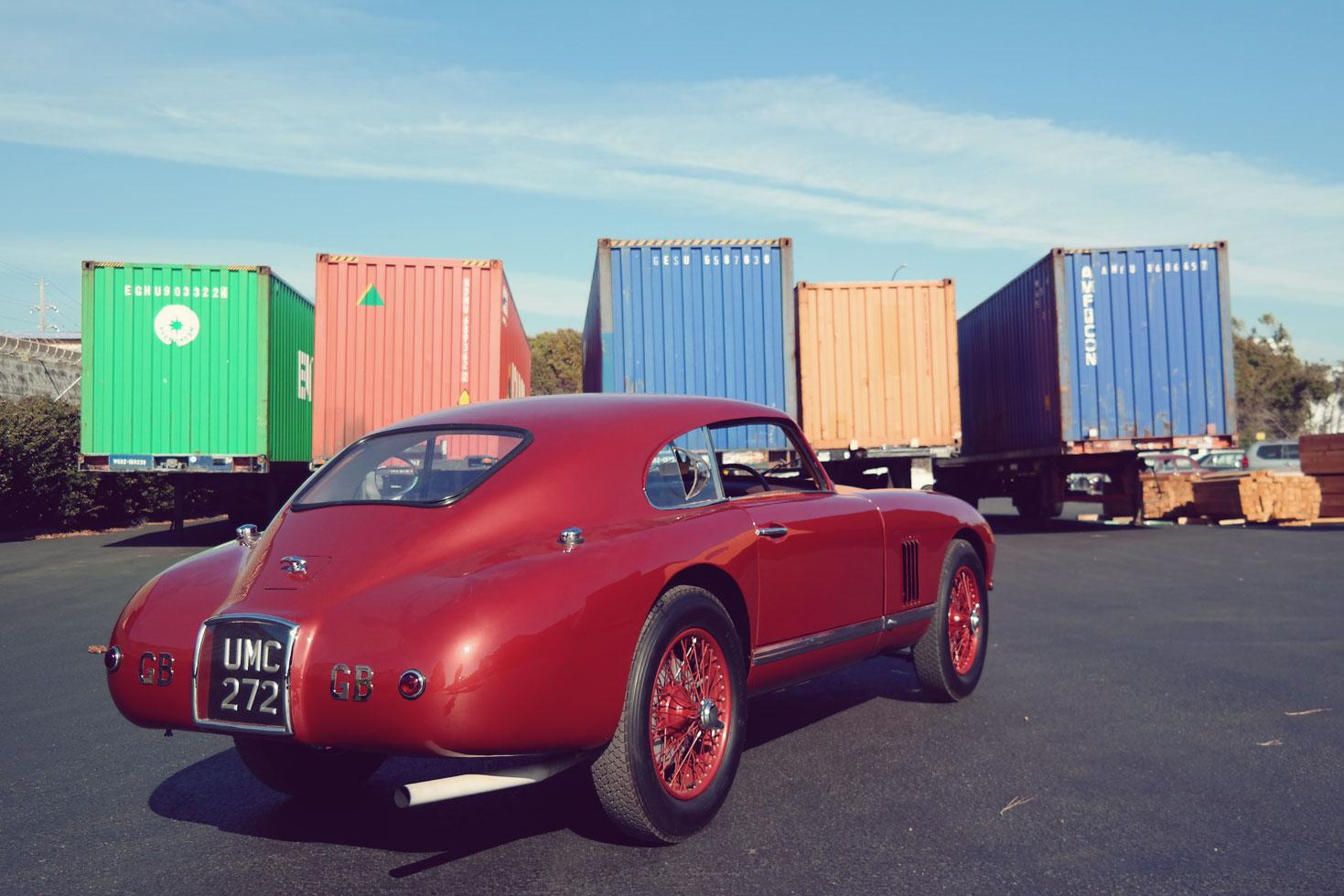 Aston Martin DB2 UMC272 shipping container