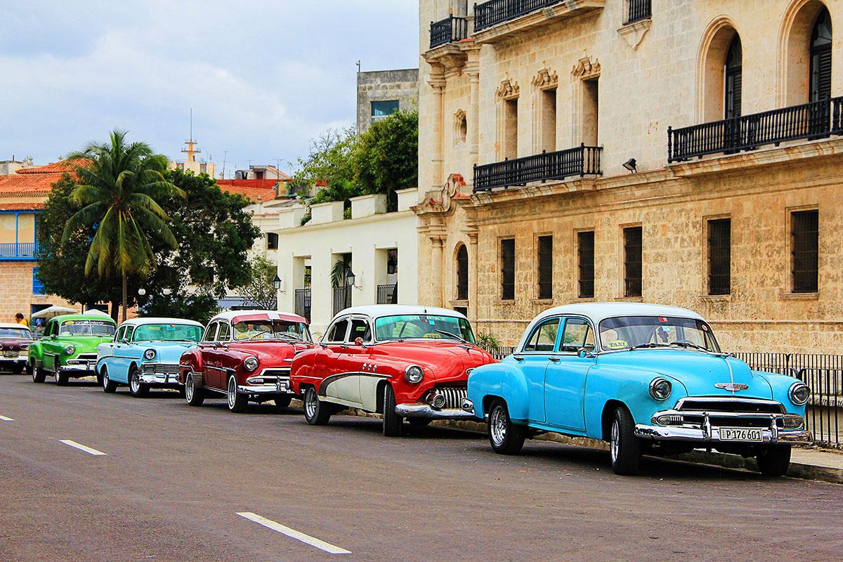 Cuba classic car import