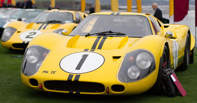 Pebble Beach Concours Elegance Ford GT MK IV