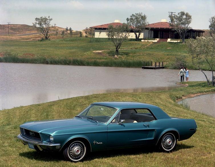 Oldtimer Ford Mustang aus den USA