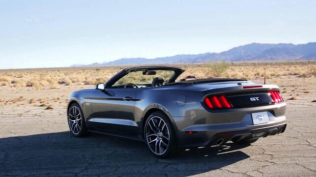 New Mustang US Export